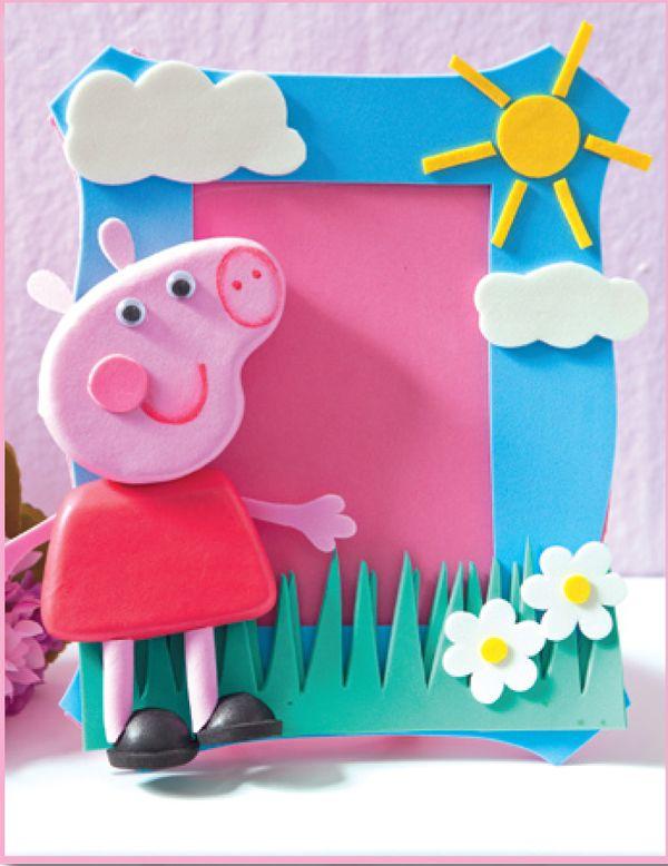 Porta-retratos da Peppa Pig