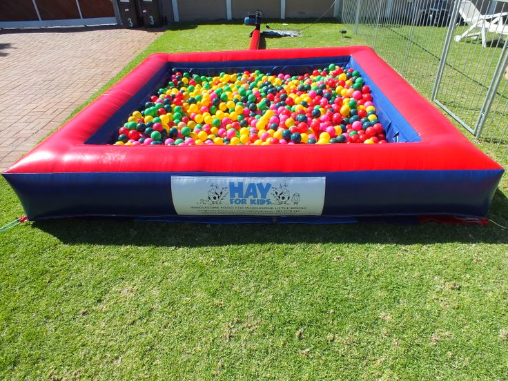 Our ball pond with 2500 balls. www.jumpingconnor.co.za
