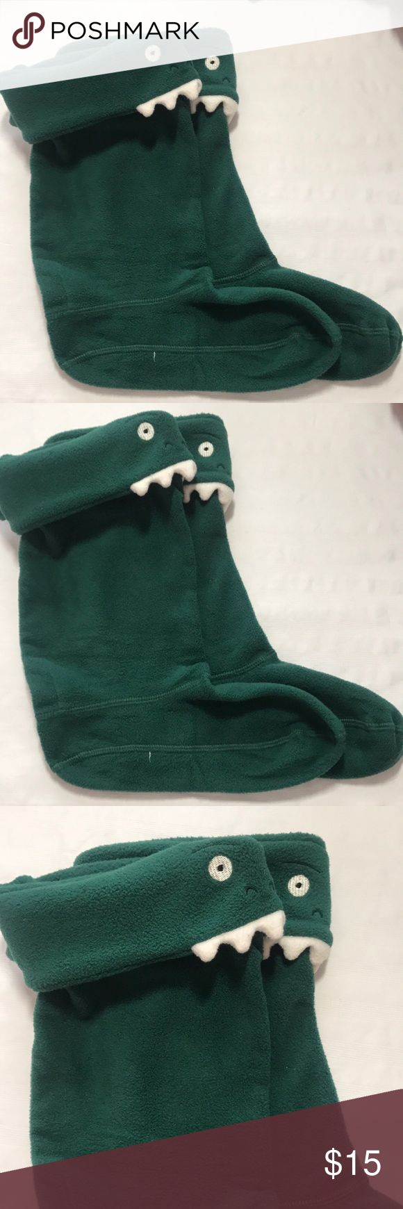 JOULES WELLY SOCKS Children's Dinosaur  L GREEN JOULES WELLY SOCKS Children's Dinosaur  size L GREEN Joules Accessories Socks & Tights