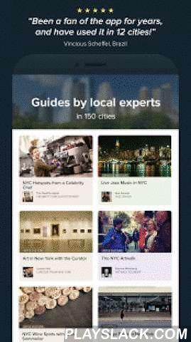 Stay.com City Travel Guides  Android App - playslack.com ,  Voor de nieuwsgierige urban reiziger — de reiziger die liever naar mooie plekken gaat dan beroemde hotspots, en originaliteit belangrijker vindt dan bekende ketens. Geniet van avontuurlijk eten, spannend nachtleven, onafhankelijke winkels en gezellige café's, allemaal zorgvuldig geselecteerd door lokale experts. Hun reisgidsen brengen het echte karakter van de stad tot leven.GPS is gratis met supersnelle offline kaarten!Bekend van…