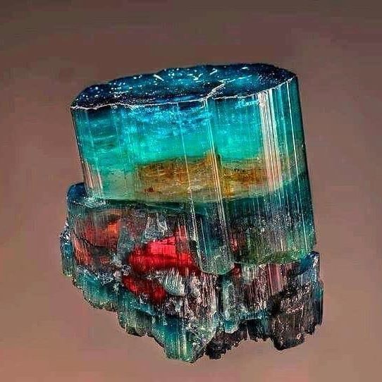 Tourmaline from Brazil | #Geology #GeologyPage #Mineral    Geology Page  www.geologypage.com