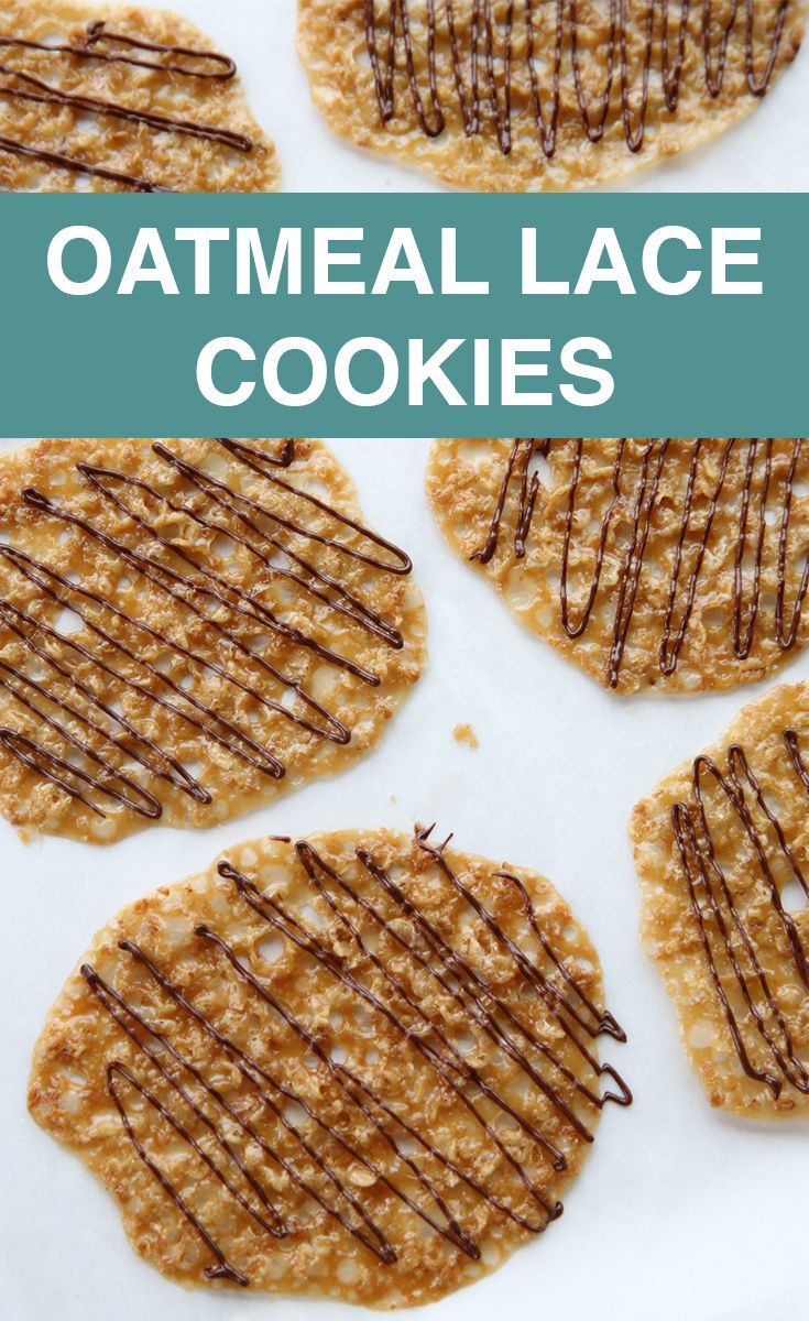 The 25+ best Oatmeal lace cookies ideas on Pinterest ...