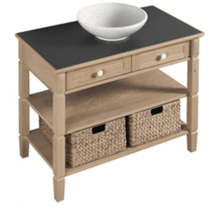 Spiegelschrank Badezimmer Flach :  Keramag Renova, Waschtischunterschrank Holz und Duschwanne Flach