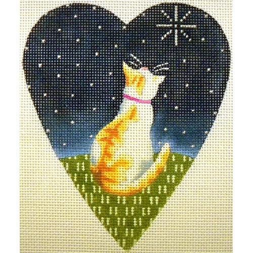 Midnight Cat Heart