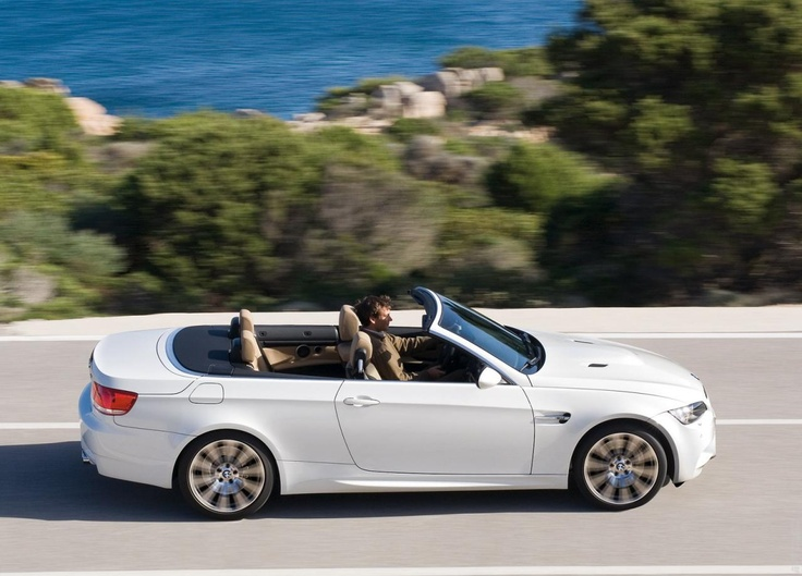 2009 BMW M3 Convertible, semi-auto with paddle shifters, in red or blue only and no black leather