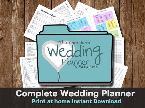 The Complete Wedding Planner Sbook By Weddingtoolz 7 00 Weddingplanner Weddingbinder