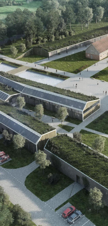 Cultural center in European land Mazury