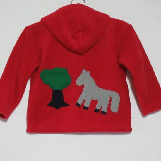 Unisex kids Jacket 'Horse'. Cosy and warm, all day every day