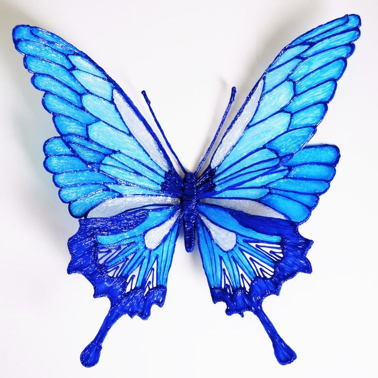 Draw a butterfly with 3D pen • Maypop Studio