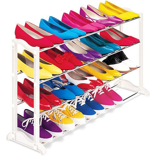Need this for organizing my closet.Pairings Shoes, 145904 20Pair, 4 Tiered Shoes, 4Tier Shoes, Shoes Storage, Shoe Racks, Shoes Racks, 20 Pairings, 20Pair Shoes