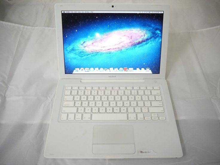 "Apple White MacBook 13"" A1181 2006 MA699LL/A EMC 2121 1.83GHz Core 2 Duo 2GB Ram 160GB HDD Intel GMA 950 Laptop..."