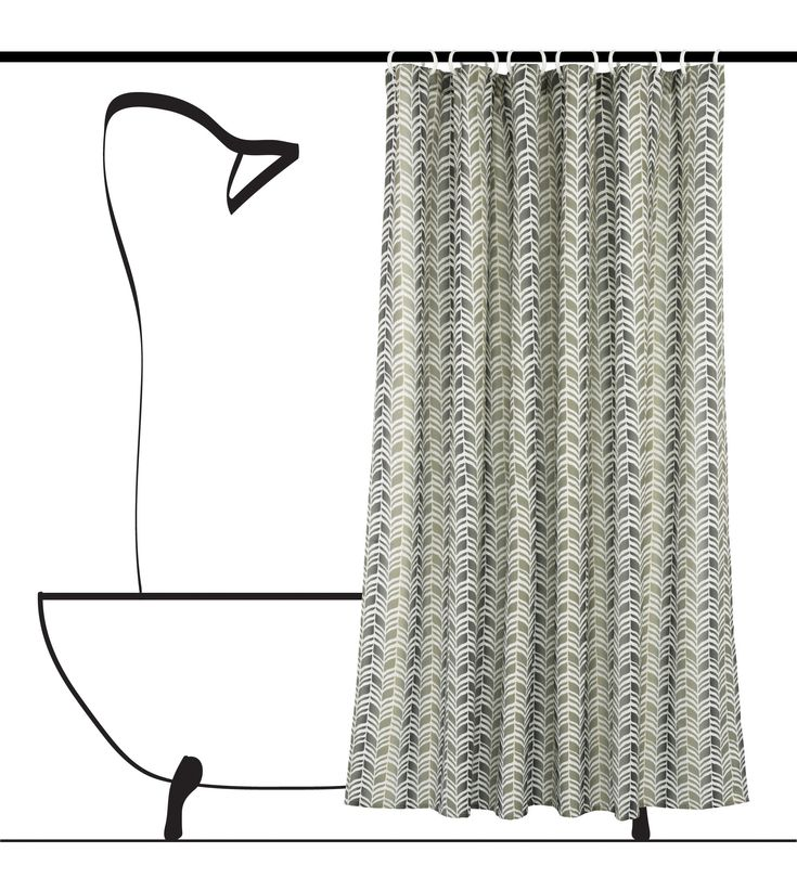 Updating your bath space has never been so easy as with a Metro shower curtain by LJ Home Fashions. Classic chevron (geometric) design available in reds, green/grey, dark green and gold/yellow.  All on a linen beige ground. Available on Amazon, Wayfair, Home Depot and Lowes.