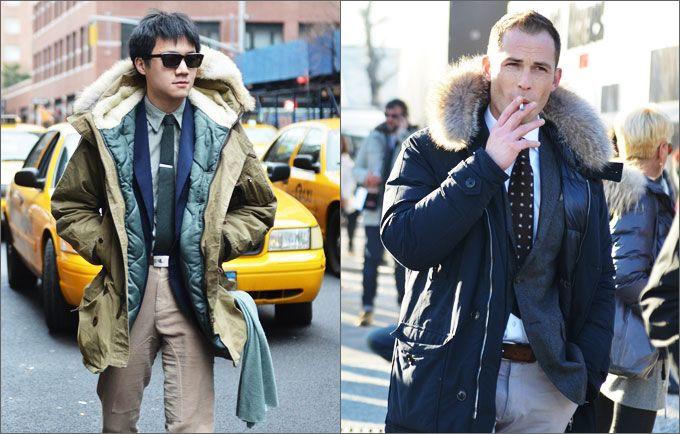Мужская мода. Streetstyle: что носят мужчины?  Осень-зима 2016-17 на Fashion-fashion.ru