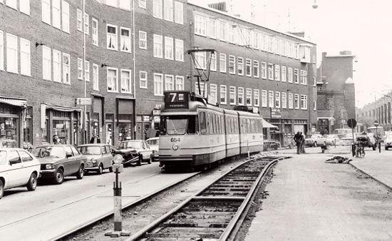 Mijn geboortestraat ... Witte de Withstraat Amsterdam - 1967