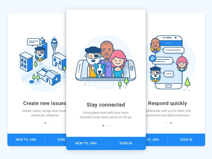 Onboarding Android - JIRA by Andrew McKay