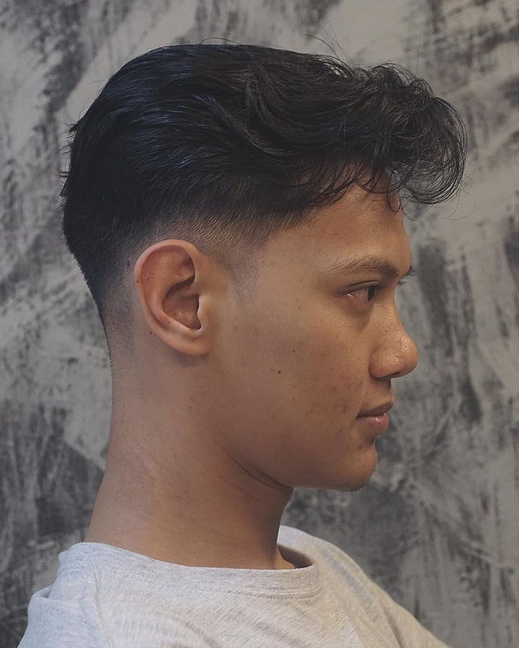 Wavy hairstyles for asian men