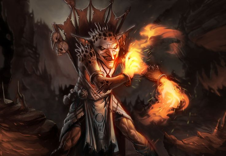 fantasy art goblins mage shaman wallpaper (#1520815 ...