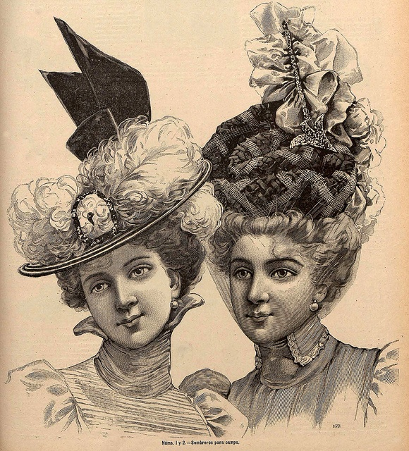 early 1900s fashion hats - photo #22