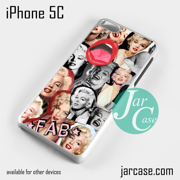 merlyn monroe Phone case for iPhone 5C and other iPhone devices