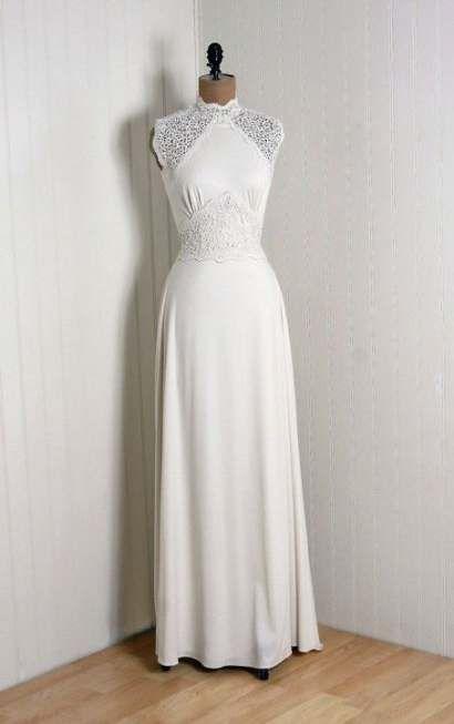 Best vintage wedding dress 40s neckline 51+ Ideas #dress #wedding #vintagewedding