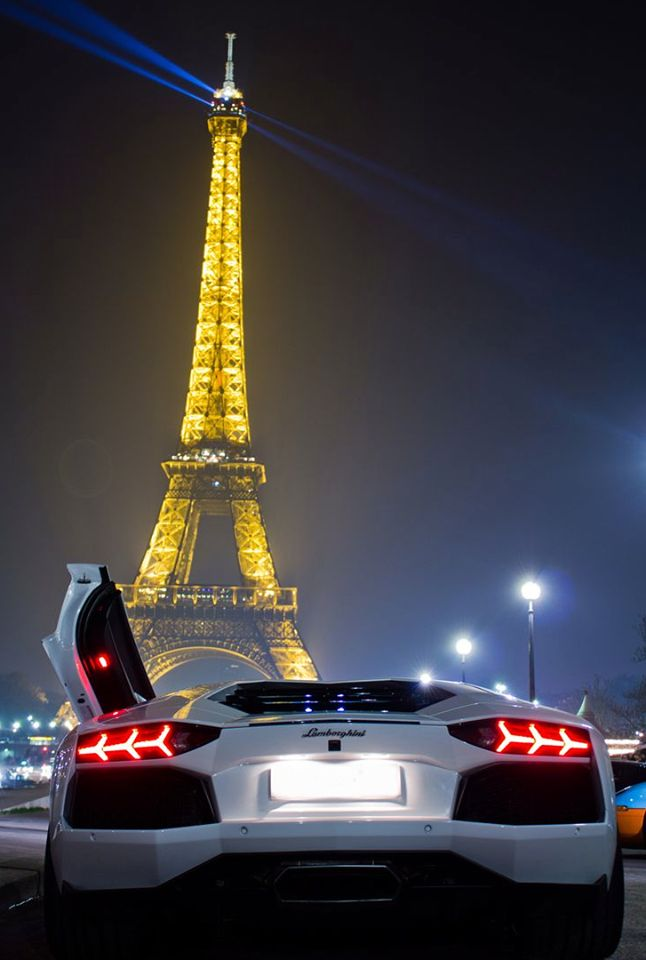 Paris and Lambo <3