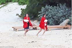 Nancy Shevell, 57, showcases her toned pins in stylish navy two-piece as she enjoys late night dip with husband Paul McCartney, 74, in St Barts . Beatles Radio: The Beatles, Solos, Covers, Birthdays, News The Fab 4 and More!