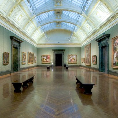 Inside the National Gallery, London