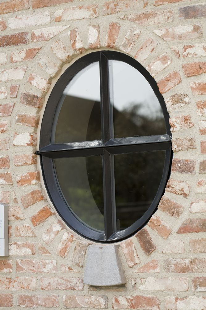 typical window in Belgian farms/farmhouses
