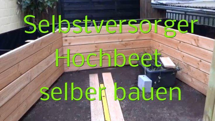 In diesem Video zeige ich Euch, wie wir mein individuell an meinen Garten angepasstes Hochbeet gebaut haben. Ich habe dann vor dort Obst und Gemüse anzupflanzen.