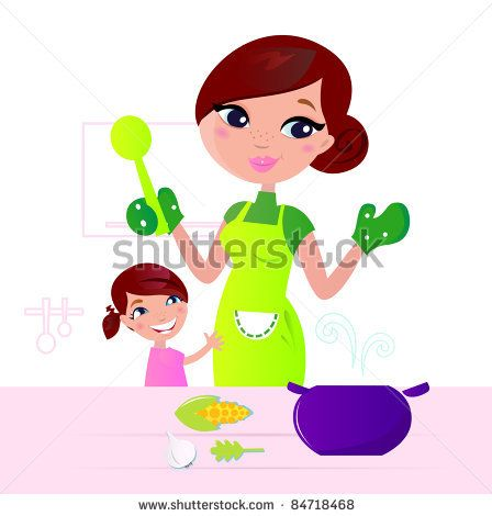 Set Of Symbolical Images Of Cooks. Stock Vector 165572162 : Shutterstock