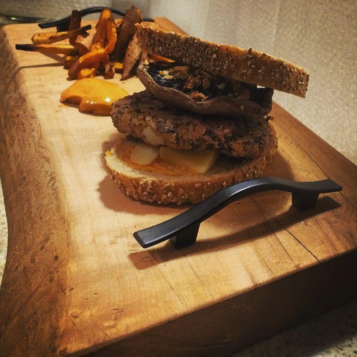 Bean Burger- for custom inquiries email joshamosdesigns@hotmail.com