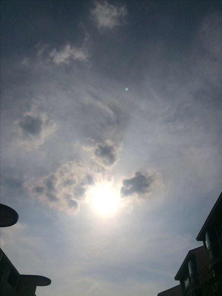 2017년 8월 4일의 하늘 #sky #cloud #sun