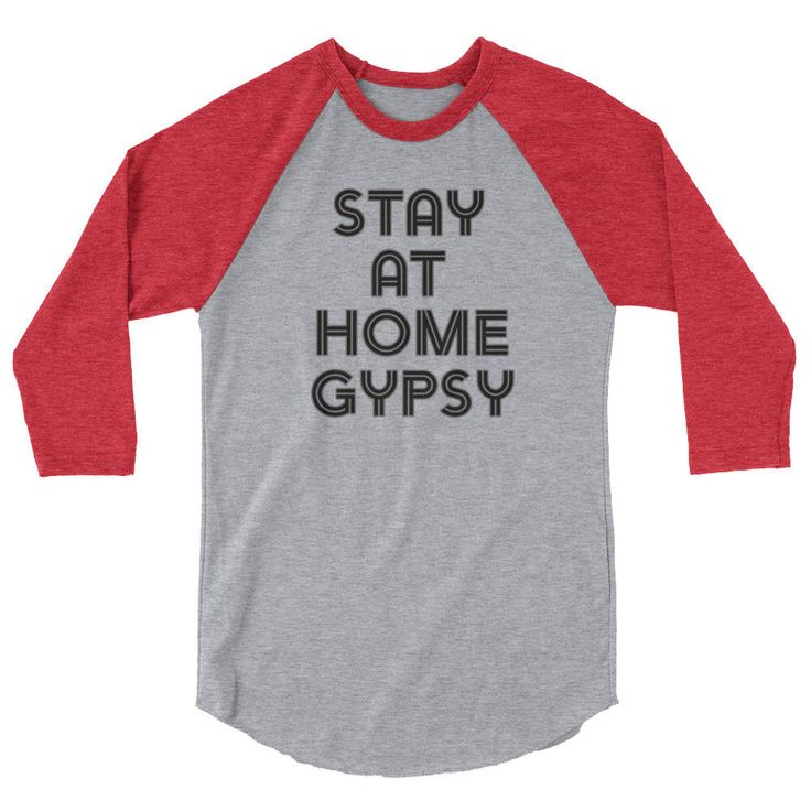 Excited to share the latest addition to my #etsy shop: Gypsy Tee 3/4 sleeve raglan shirt, Stay at Home Gypsy, Mama T Shirt, Mom Life Shirt, Wifey Shirt, Blessed Mama, Blessed Mama Shirt