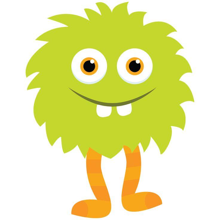 Little+Monster+Clipart_Green+Monster+2+by+Little+Apples+Design.png 1,600×1,600 pixels