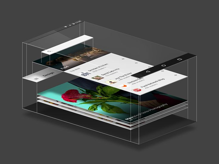 feedly for Material Design by Arthur Bodolec