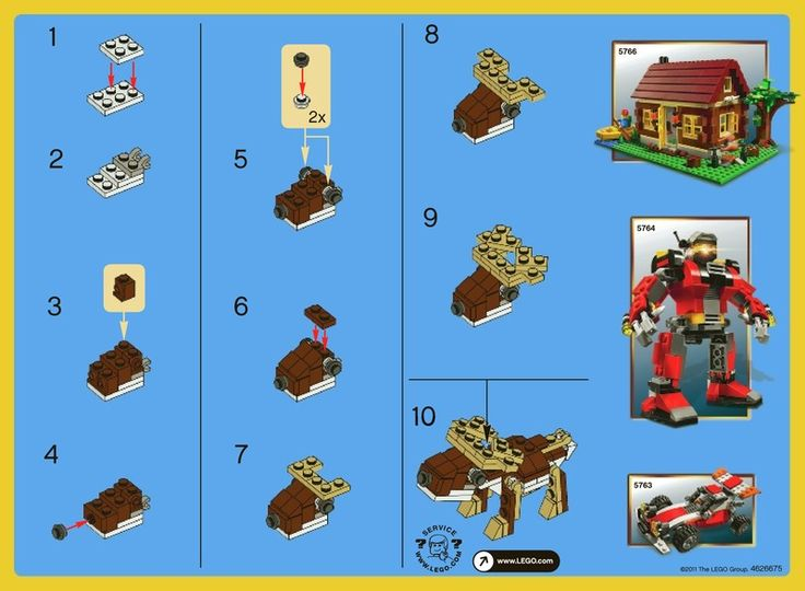 little mermaid lego instructions