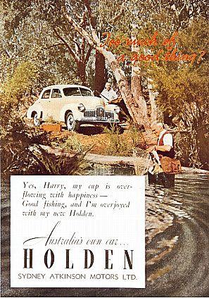 Holden ad