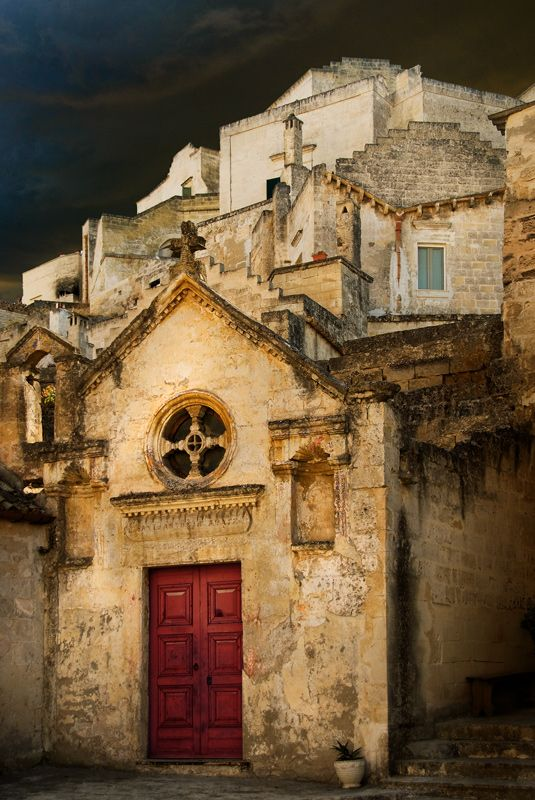 Matera Storm. Matera, Italy One of the most fascinating towns in Italy!