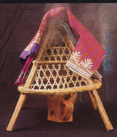 Traditional way to perfume cloths, Saudi Arabia