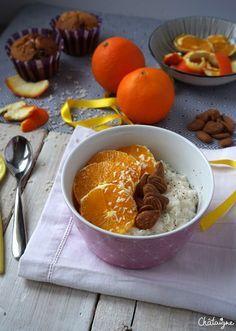 Porridge de riz au lait de coco - Blog de Châtaigne
