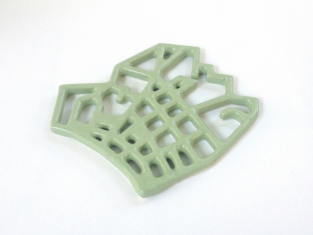 Avocado Green 3D Printed Ceramics