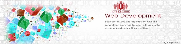 #Web #Development –  Cyberique experienced #Web #Developers have expertise in web design and development services. Our web design and development team is focused. See more: http://www.cyberique.com/web-development-service.php