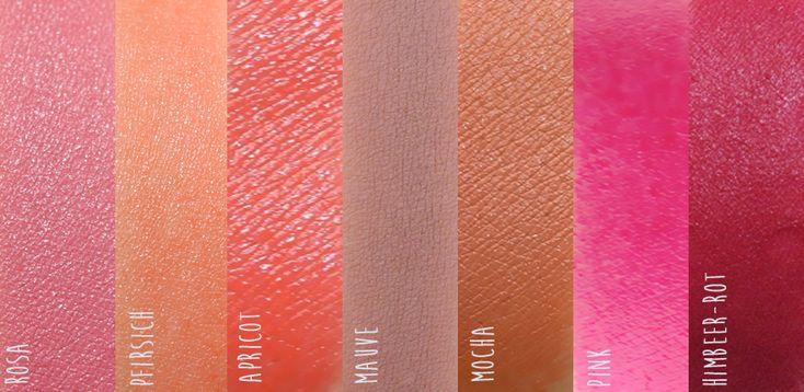 Lippenstift-Palette passend für helle Haut