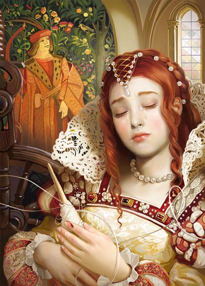 Tatyana Doronina, sleeping beauty