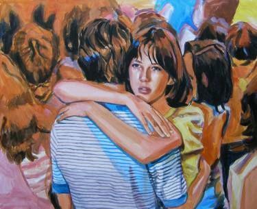 "Saatchi Art Artist Helena Janecic; Painting, ""Sophie"" #art"