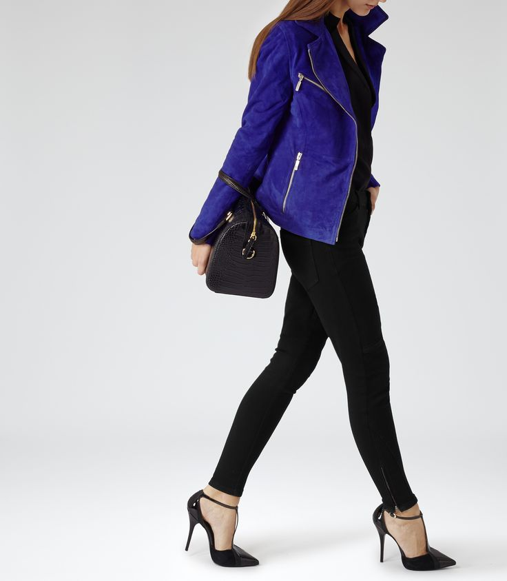 Womens leather jackets reiss
