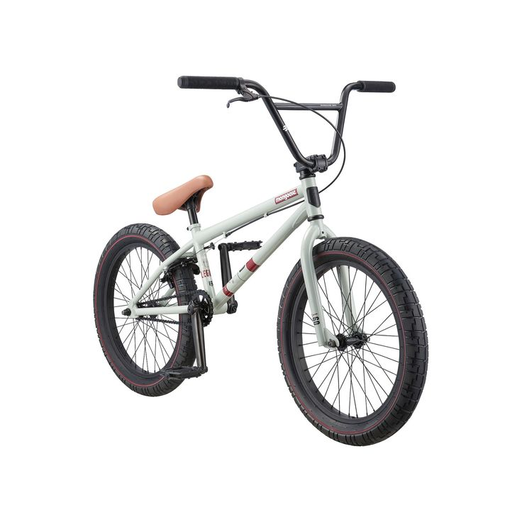 Youth Mongoose 20-Inch Legion L60 BMX Bike, White Oth