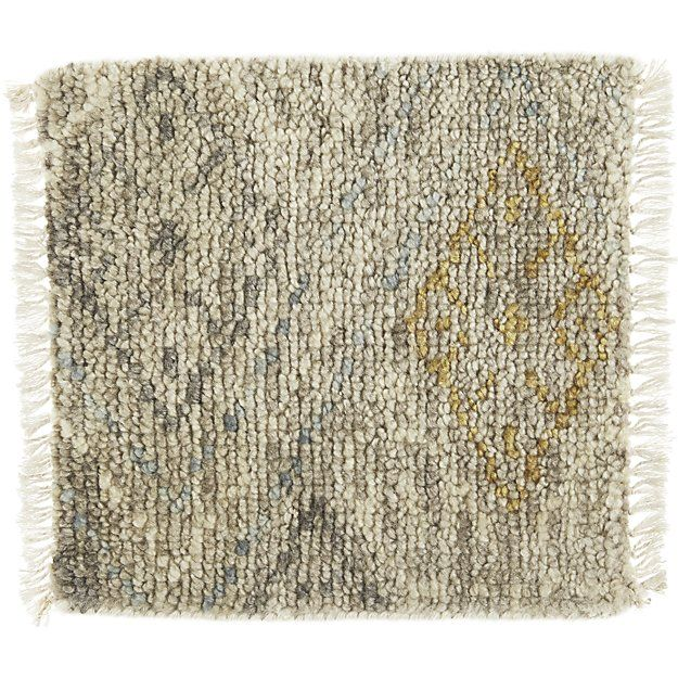 """Romina Wool-Blend 12"""" sq. Rug Swatch 