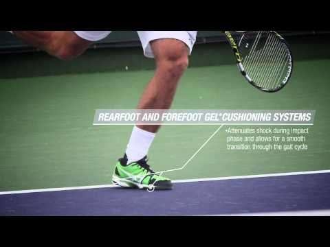 Check out ASICS tennis athlete Steve Johnson putting the GEL-Solution  through its paces on the court, and see why this remains his footwear of  choice, ...