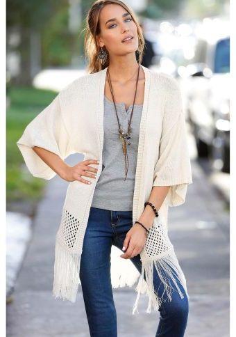 Kardigán so strapcami #ModinoSK #kardigan #etno #moda #trend #styl #fashion #autumn #fall #modern